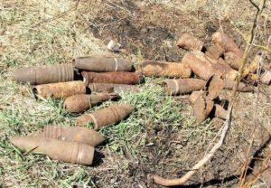 В Смоленской области найдено 8 боеприпасов времен ВОВ